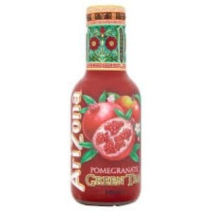 AriZona Green Tea Pomegranate 33cl.