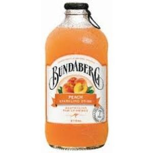 Bundaberg Peach Flavoured Sparkling Fruit Drink 37,5cl