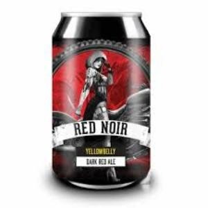 YellowBelly Red Noir Dark Red Ale BLIK/CAN 33cl.