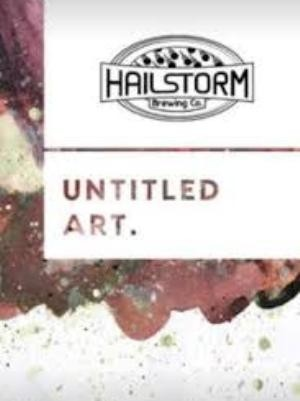 Untitled Art. / Hailstorm Brewing CO. Waffle Stout 33cl.