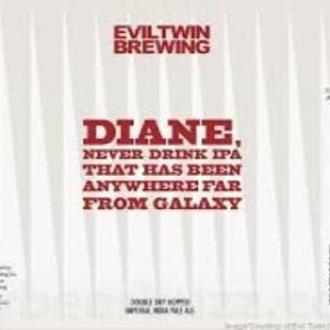 Evil Twin Brewing Diane, Never drink IPA that has been anywhere far from Galazy BLIK/CAN 56cl.