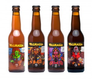 Walhalla Daemon #8 Imperial Red Ale 33cl.